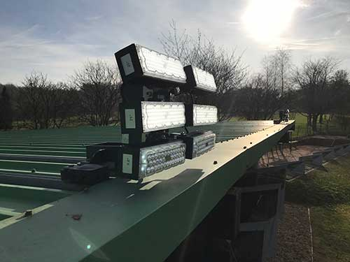 The Oaks Driving Range Lighting Upgrade